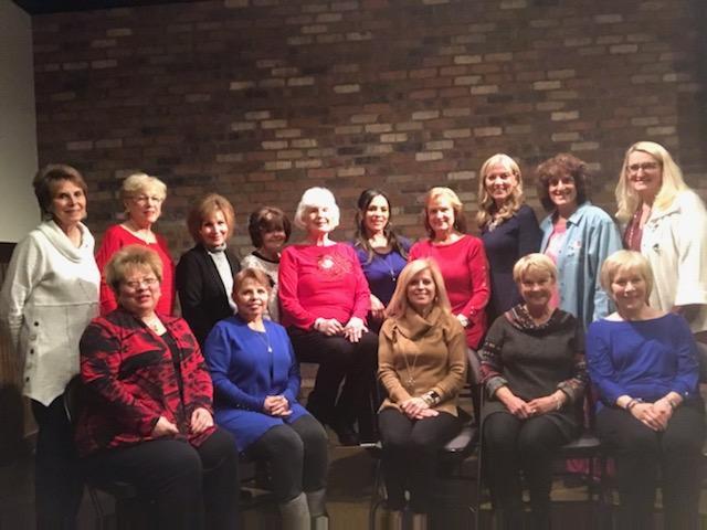 group of women sitting